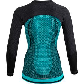 UYN Running Alpha OW LS Shirt Women green jewel/charcoal